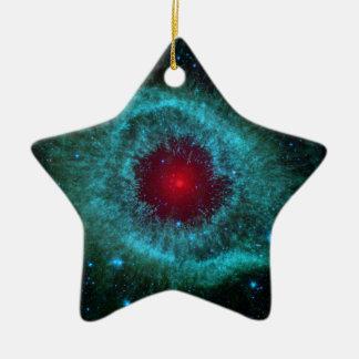 Ornement Étoile En Céramique NGC 7293 la NASA de nébuleuse d'hélice