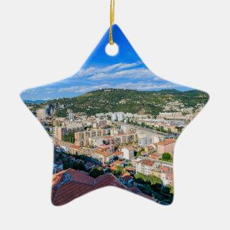 Ornement Étoile En Céramique Nice du centre, France
