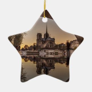 Ornement Étoile En Céramique Notre-Dame, PAris, France