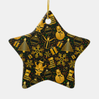 Ornement Étoile En Céramique nouvelle conception de Noël