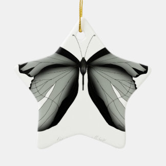 Ornement Étoile En Céramique Papillon occidental de sauge de colline