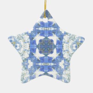 Ornement Étoile En Céramique Papillons pour vous