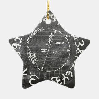 Ornement Étoile En Céramique pi
