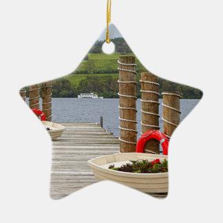 Ornement Étoile En Céramique Pilier de baie de canard, Loch Lomond, Ecosse