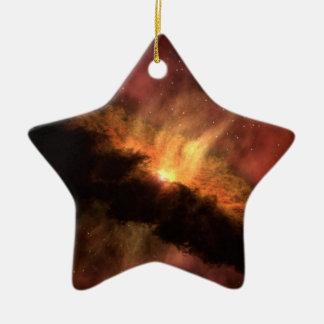 Ornement Étoile En Céramique Planète infrarouge de la NASA formant le disque