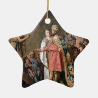 Ornement Étoile En Céramique Prédication de Jean-Baptist
