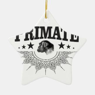Ornement Étoile En Céramique primat de chimpanzé