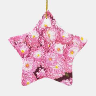 Ornement Étoile En Céramique Produits floraux