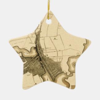 Ornement Étoile En Céramique Providence 1823