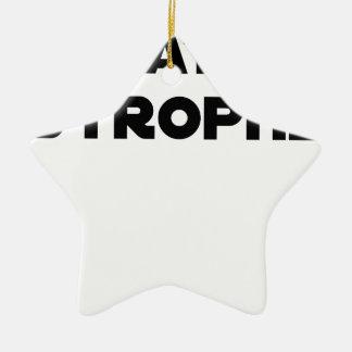Ornement Étoile En Céramique QUATAR STROPHE - Jeux de mots - Francois Ville