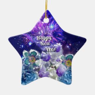 Ornement Étoile En Céramique Regardez comment stupéfier sera la nouvelle année