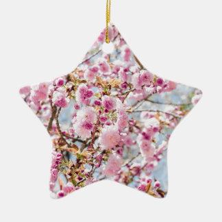 Ornement Étoile En Céramique Sakura Asie