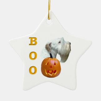 Ornement Étoile En Céramique Sealyham Terrier huent