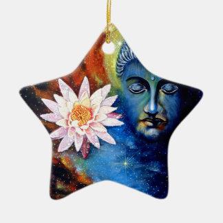 Ornement Étoile En Céramique seigneur Bouddha 1