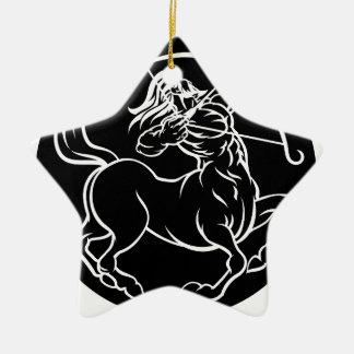 Ornement Étoile En Céramique Signe de zodiaque de centaure de Sagittaire