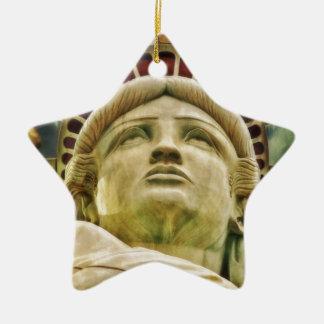 Ornement Étoile En Céramique Statue de la liberté