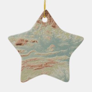 Ornement Étoile En Céramique Style de classique de vallée de la rivière