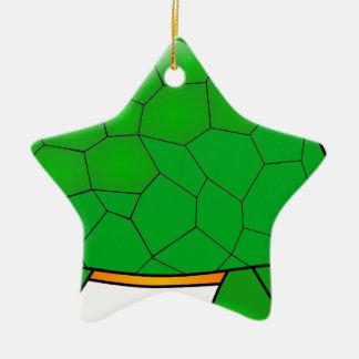 Ornement Étoile En Céramique tortue