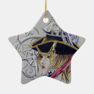 Ornement Étoile En Céramique Une vie de pirates