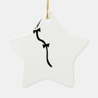 Ornement Étoile En Céramique Vol de cerf-volant