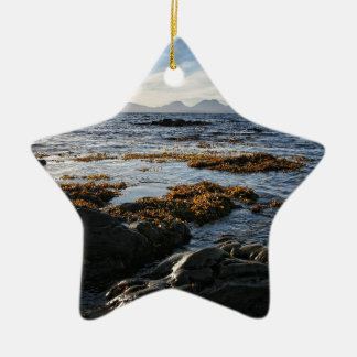 Ornement Étoile En Céramique Westcoast de l'Ecosse, île de Jura