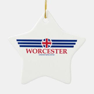 Ornement Étoile En Céramique Worcester