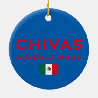 Ornement fait sur commande de Noël de Chivas