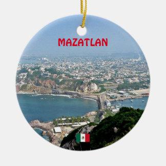 Ornement fait sur commande de Noël de Mazatlan