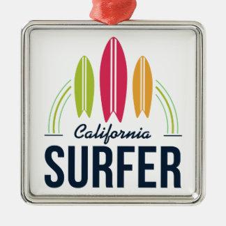 Ornement fait sur commande de surfer d'emplacement
