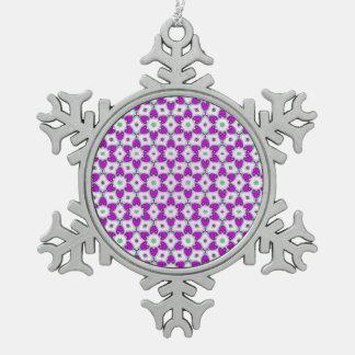 Ornement Flocon De Neige Beau motif V01D