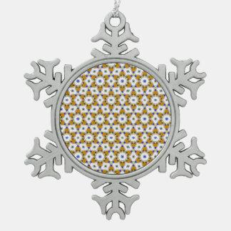 Ornement Flocon De Neige Beau motif V01E
