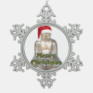 Ornement Flocon De Neige Bouddhisme - Bouddha - Joyeux Noël