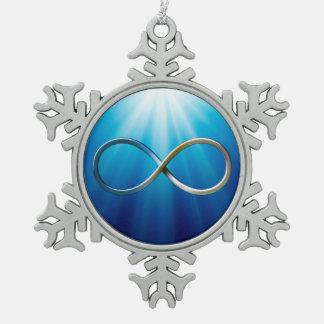 Ornement Flocon De Neige Cadeaux frais du symbole | d'infini