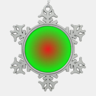 Ornement Flocon De Neige Cercles concentriques #22