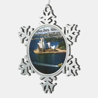 Ornement Flocon De Neige Chambre d'Oprea de port de Sydney