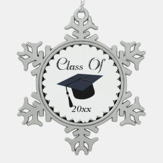 Ornement Flocon De Neige Classe de l'obtention du diplôme 2017
