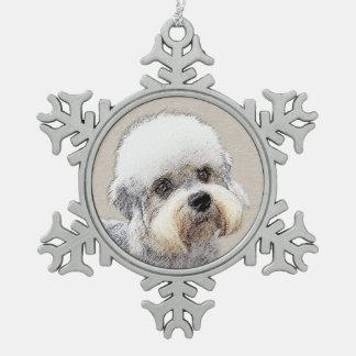 Ornement Flocon De Neige Dandie Dinmont Terrier