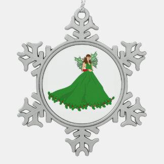 Ornement Flocon De Neige Décoration de fée de Noël