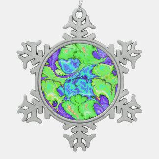 Ornement Flocon De Neige Fractale extraordinaire V03