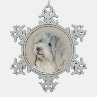 Ornement Flocon De Neige Havanese (sable d'or)