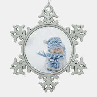 Ornement Flocon De Neige Homme Ornanment de neige