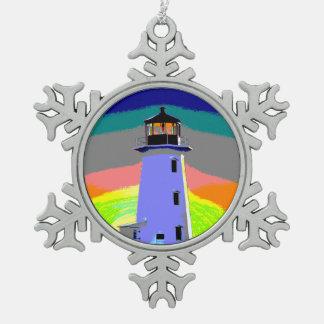 Ornement Flocon De Neige La crique la Nouvelle-Écosse de Peggy d'ornement