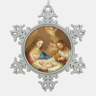 Ornement Flocon De Neige La Natividad