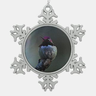 Ornement Flocon De Neige Le colibri d'Anna