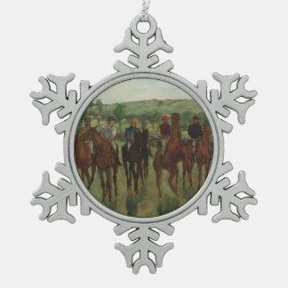 Ornement Flocon De Neige Les cavaliers