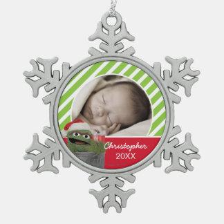 Ornement Flocon De Neige L'oscar de casquette de Père Noël le rouspéteur  