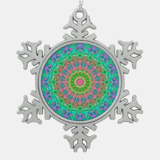 Ornement Flocon De Neige Mandala géométrique G18 d'ornement