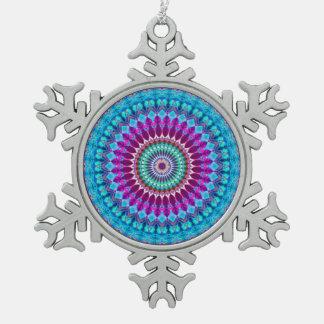 Ornement Flocon De Neige Mandala géométrique G382 d'ornement