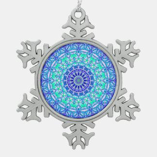 Ornement Flocon De Neige Mandala tribal G389 d'ornement