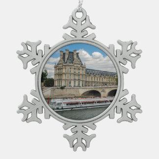 Ornement Flocon De Neige Musée de Louvre